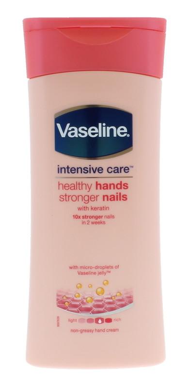 Vaseline: Hand Cream Healthy Hands & Stronger Nails (200 ml)