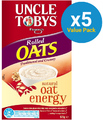 Uncle Tobys Rolled Oats 575g (5 Box Value Pack)