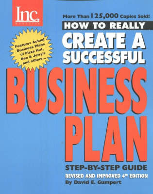 How to Really Create a Successful Business Plan by David E. Gumpert image