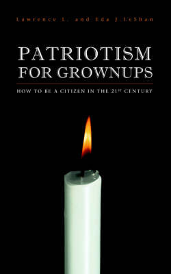 Patriotism For Grownups by Lawrence, L. LeShan image