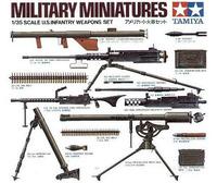 Tamiya U.S. Infantry Weapons 1/35 Scale Set