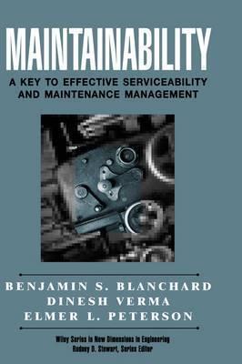 Maintainability by Benjamin S Blanchard