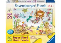Ravensburger – Junior Mermaid SuperSize Puzzle 24pc