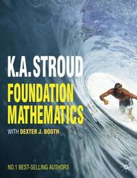 Foundation Mathematics by K.A. Stroud