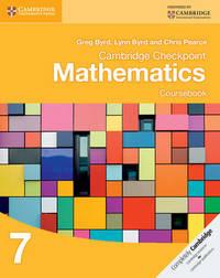Cambridge Checkpoint Mathematics Coursebook 7 by Greg Byrd