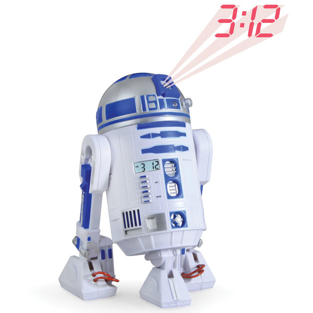 Star Wars - R2-D2 Projection Alarm Clock