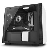 NZXT H200I Premium Mini-ITX Case - Matte White