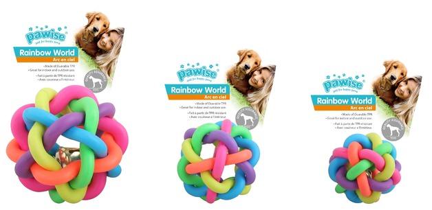 Pawise: Rainbow World - Ball Large