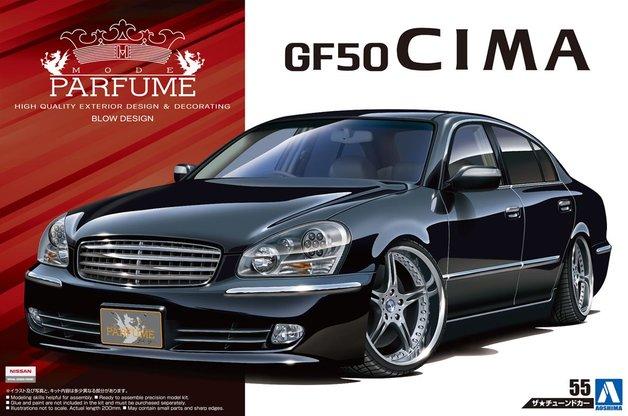 Aoshima: 1/24 Nissan Mode Parfume GF50 Cima '01 - Model Kit*