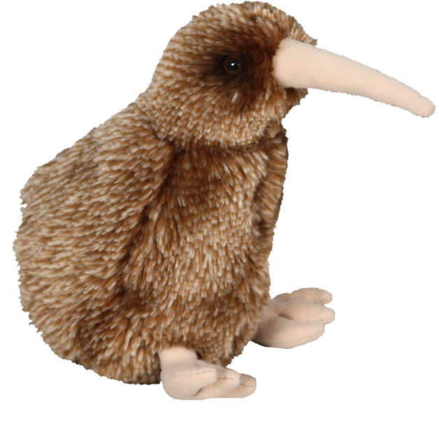 "Antics: Brown Kiwi - 6"" Plush"