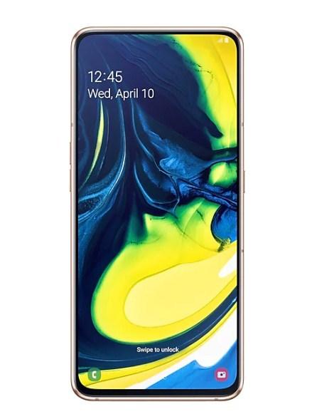 Samsung: Galaxy A80 128GB (8GB RAM) - Angel Gold