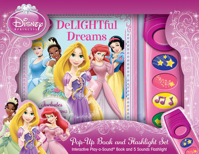 Disney Princess: Delightful Dreams: Flashlight & Book Adventure Box Set