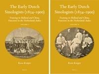The Early Dutch Sinologists (1854-1900) (2 vols) by Koos Kuiper image