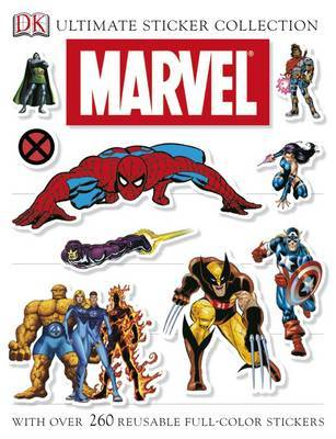 Marvel: Ultimate Sticker Collection by DK image