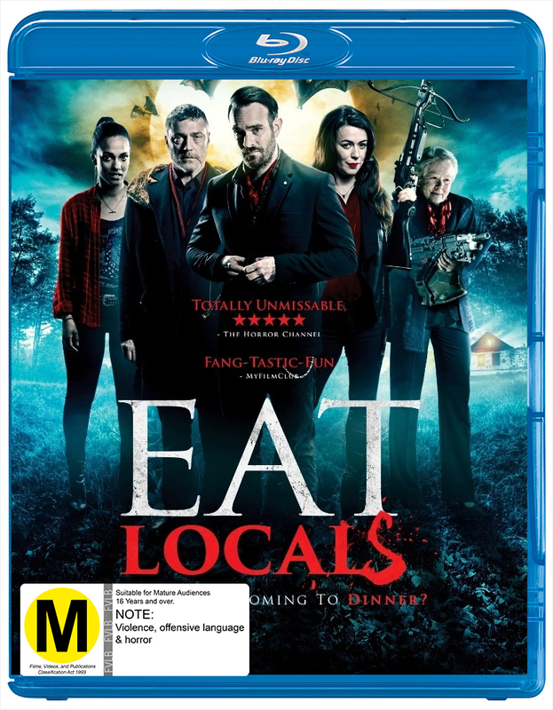 Eat Locals on Blu-ray