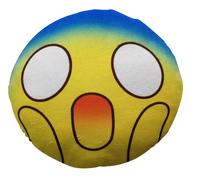 Scream Emoji Cushion - 34cm