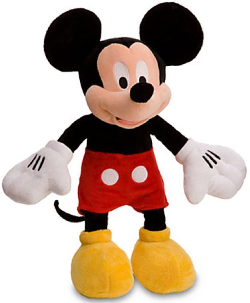 "Mickey Mouse Plush 11"" image"