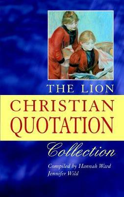 The Lion Christian Quotation Collection by Hannah Ward image