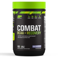 MusclePharm Combat BCAA+Recovery - Blue Raspberry (30 Serves)