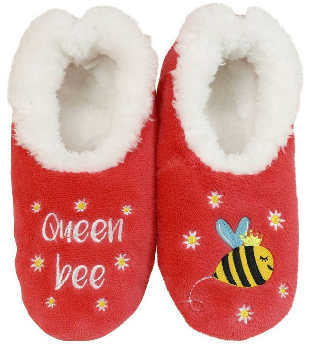 Slumbies Queen Bee Pairables Slippers (S)