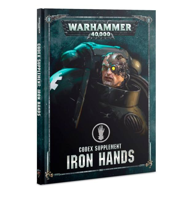 Warhammer 40,000: Iron Hands - Codex Supplement
