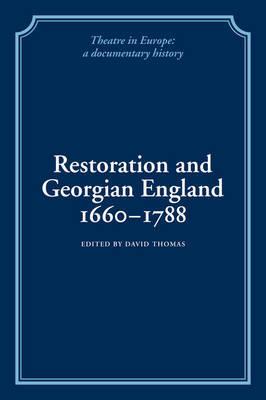 Restoration and Georgian England 1660-1788 image