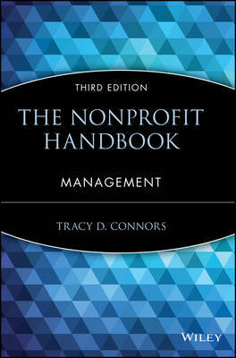 The Nonprofit Handbook by Tracy D. Connors