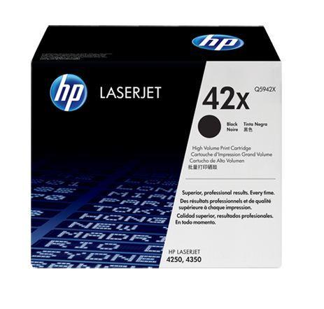 HP No. 42X HY Black Toner Cartridge