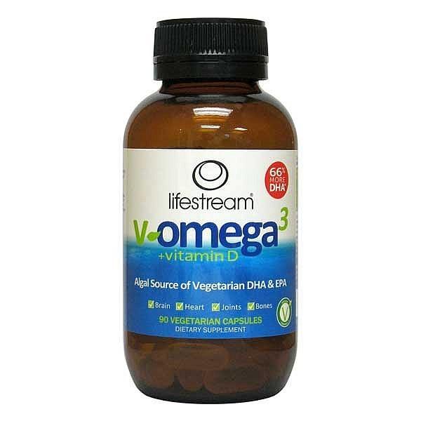 Lifestream V-Omega 3 (45 Capsules)