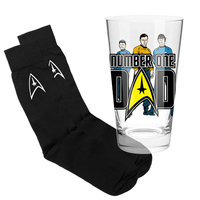 Star Trek Number One Dad Gift Set