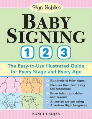 Baby Signing 1 2 3 by Nancy Cadjan image