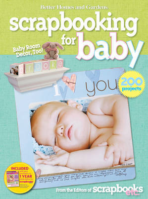 """Better Homes and Gardens"" Let's Start Scrapbooking for Baby by Better Homes & Gardens"