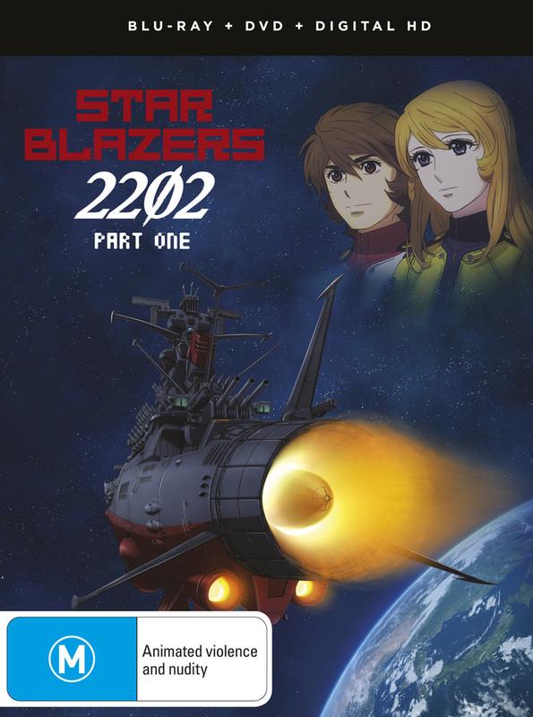 Star Blazers: Space Battleship Yamato 2202 Part 1 (eps 1-13) Dvd / Blu-ray Combo on DVD, Blu-ray
