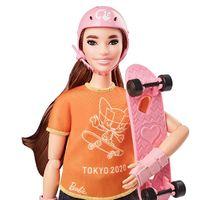 Barbie Careers: Tokyo Olympic Games Doll - Skateboarder