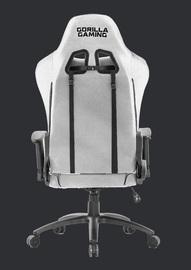 Gorilla Gaming Commander Chair - Grey & Black (Fabric) for