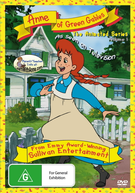 Anne Of Green Gables - The Animated Series: Vol. 1 on DVD