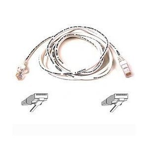 Belkin 3m White CAT5e Snagless Patch Cable