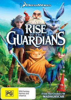 Rise of the Guardians on DVD