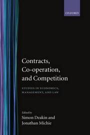 Contracts, Co-operation, and Competition image