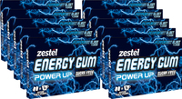 Zestel Energy Gum - Peppermint Blast (10 Pack)