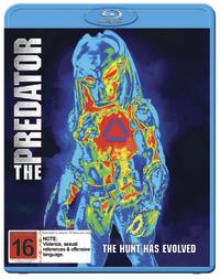 The Predator (2018) on Blu-ray