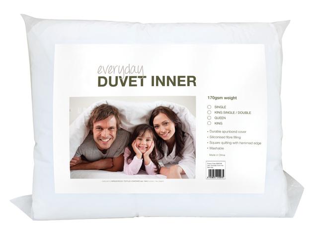 Everyday 170 GSM Duvet Inner - Single