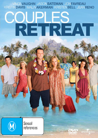 Couples Retreat on DVD image