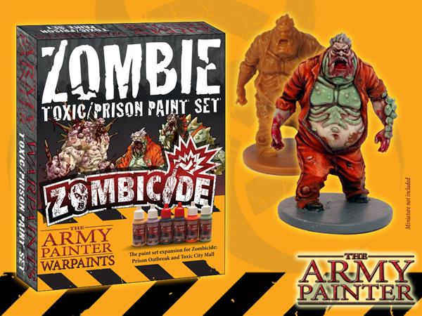 Army Painter Warpaints Zombicide: Toxic/Prison Paint Set