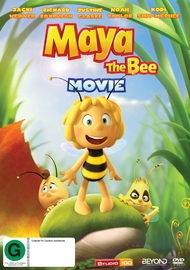 Maya The Bee Movie on DVD
