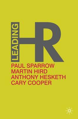 Leading HR by P. Sparrow