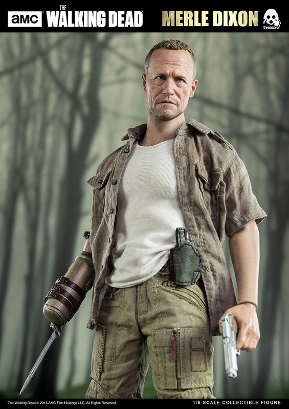 "The Walking Dead: 12"" Merle Dixon - Action Figure"