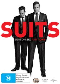 Suits - Season 6 Part 1 on DVD
