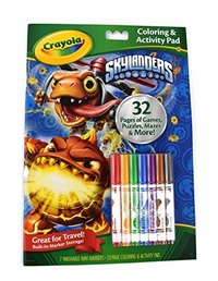 Crayola: Coloring & Activity Pad - Skylanders