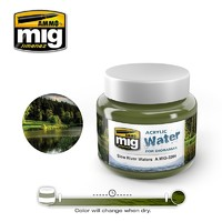 Acrylic Water- Slow River Water (250ml)